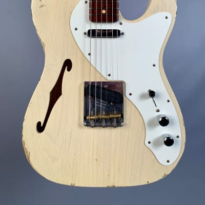 Fender Custom Shop Limited 50's Thinline Telecaster Relic Vintage Blonde