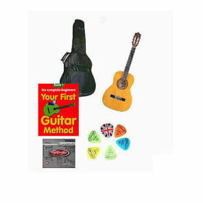 School Guitar Starter Pack Left Handed 3/4 Size for sale
