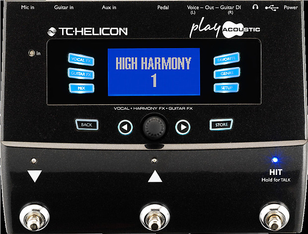tc helicon play acoustic guitar harmony vocals effects reverb. Black Bedroom Furniture Sets. Home Design Ideas