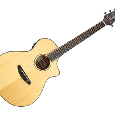 Breedlove Discovery Series Concert CE Hollow Body Acoustic-Electric Guitar Ovangkol/Sitka Spruce - DSCN01CESSMA3 for sale