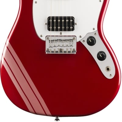 Fender Squier FSR Bullet Mustang Competition HH in Red for sale