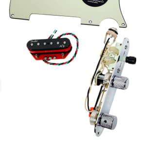 920D Custom Shop 19-16-34-21 Fender N3 Noiseless Loaded Tele Pickguard w/ 3-Way Switching