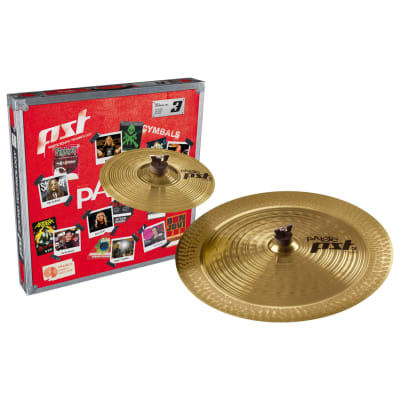"""Paiste PST 3 Effects Pack 10""""/18"""" Cymbal Set"""