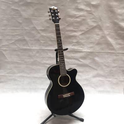 Starsun DRW9715TV Guitarra electro-acústica en negro for sale