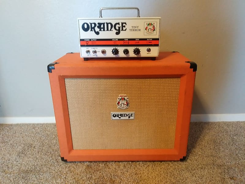 orange tt15h tiny terror 15 watt guitar amp head reverb. Black Bedroom Furniture Sets. Home Design Ideas