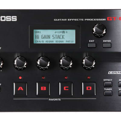 Boss GT-001 Table Top Guitar Effects Processor for sale