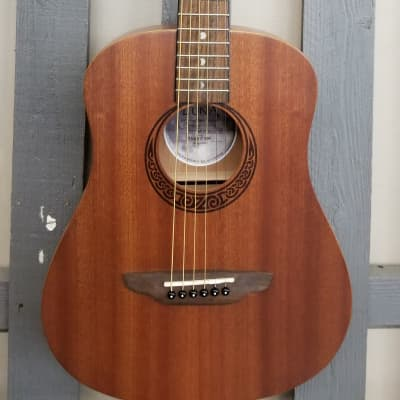 Luna Safari Muse Travel Guitar - Mahogany for sale