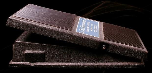 DeArmond Volume Pedal Model 1602, Gilmour, Pink Floyd, Pompeii, USA, 70's