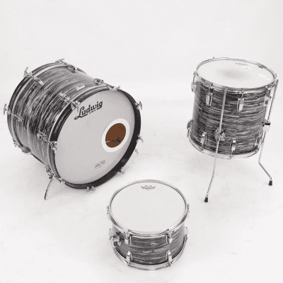 """Ludwig No. 988 Downbeat Outfit 8x12 / 14x14 / 14x20"""" Drum Set (3-Ply) 1969 - 1976"""