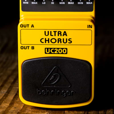 Behringer UC200 Ultra Chorus Pedal for sale