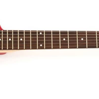 Hofner Shorty Electric Travel Guitar - Red for sale