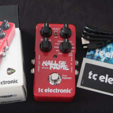 TC Electronic Hall of Fame Reverb Excellent with Original Box User Guide USB Cable and TC Sticker