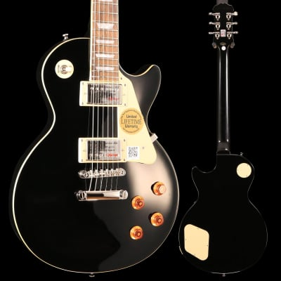 Epiphone ENS-EBCH1 Les Paul Standard Ebony w/ Chrome Hardware S/N 19011506709, 8lbs 4.9oz for sale