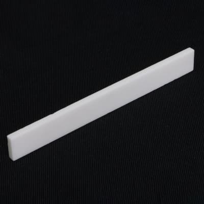 HOSCO BNK-22, blank for the bottom sill for acoustic guitar, bone (75 x 2.4 x 8 mm) for sale