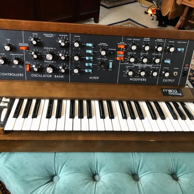 Vintage Mini Moog Model D from 1975 with OHSC!