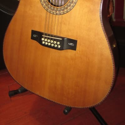 Vintage 1987 Langejans 12 String Dreadnaught Acoustic/Electric w/ Hard Case for sale