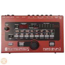 Nord Drum 2 2010s Red image