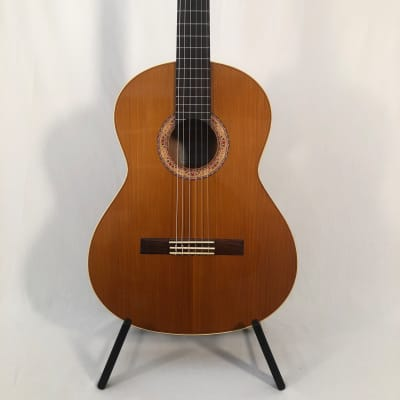 K Yairi CY116 Classical Guitar (2003) 56249 Cedar, Burl mahogany. Handmade in Japan. for sale