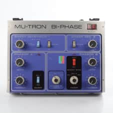 Mu-Tron Bi-Phase Phaser Effect Pedal w/ Footswitch & Manual Biphase #30387