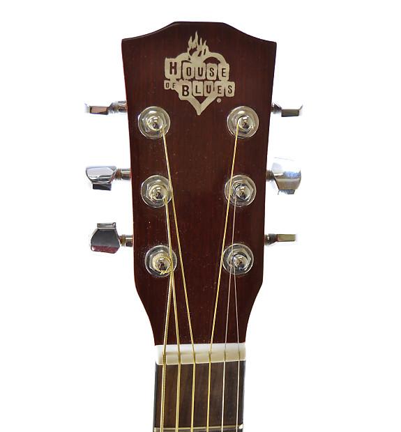 washburn hoba house of blues acoustic guitar with gig bag reverb. Black Bedroom Furniture Sets. Home Design Ideas