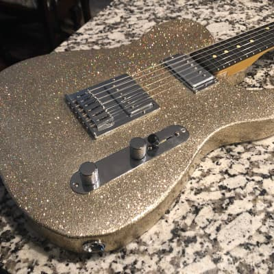 Crook Telecaster 2019 Champagne Sparkle for sale