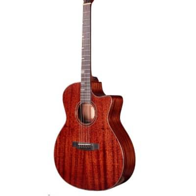 Tyma TA-350M Acoustic Guitar Auditorium Mahogany w/ Gig bag