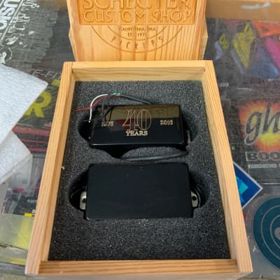 Schecter USA CUSTOM SHOP 40th Anniversary Pickup Set for sale