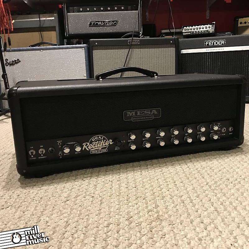 Mesa Boogie Dual Rectifier Trem-o-Verb 2-Channel 100-Watt Guitar Amp Head 1996