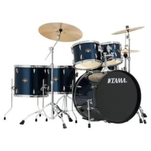"""Tama IP62NC-MNB Imperialstar 18x22/8x10/9x12/12x14/14x16/5""""x14"""" 6pc Drum Kit with Meinl Cymbals"""