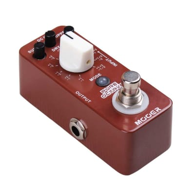 Mooer Pure Octave Polyphonic Pedal True Bypass New