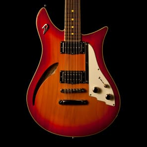 Duesenberg Double Cat 12 String Fire Burst for sale