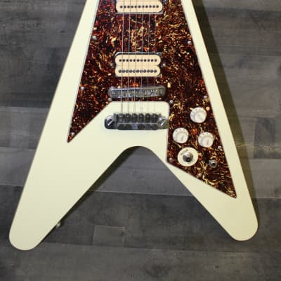 JP Kotss Flying V 2000 Olympic White for sale