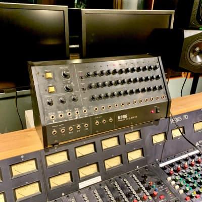 Korg SQ-10 sequencer c 1970's 1980 Noir original vintage mij japan ms-10 ms-20 ms-50 analog