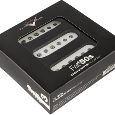 Fender Custom Shop Fat '50s Stratocaster Pickup Set