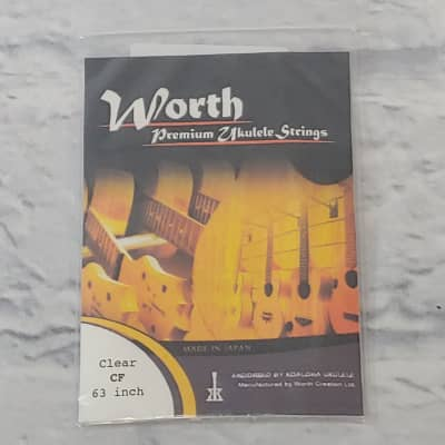 Worth Clear CF 63 Inch Ukulele Strings