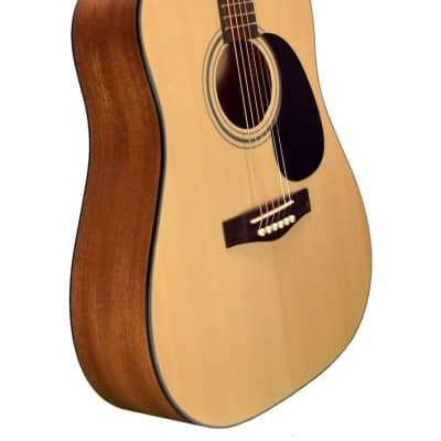 Revival  RG-10 3/4 Dreadnought 3/4 Size Spruce Top Mahogany 6-String Acoustic Guitar for sale