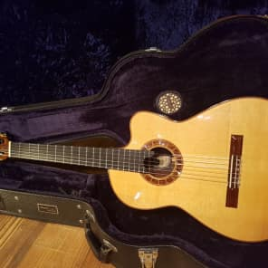 Cervantes Crossover 1 IR Classical Nylon Guitar India Rosewood Ebony 650mm for sale