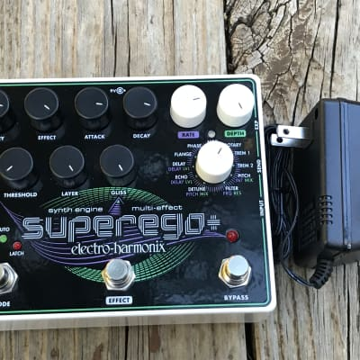 Pre-Owned Electro-Harmonix Superego Plus Polyphonic Synth Engine Pedal Used