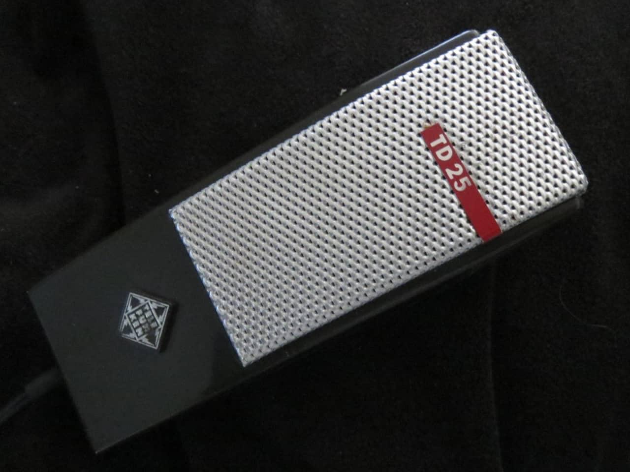 Telefunken Td25 Rare Vintage Dynamic Cardioid Microphone