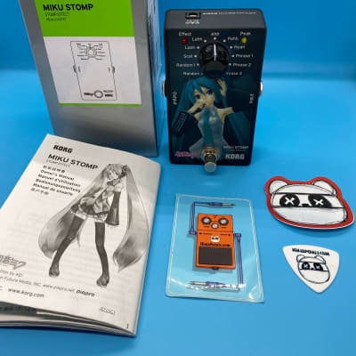 Korg Miku Stomp w/Original Box | Rare Singing Guitar Effect | Fast Shipping! for sale