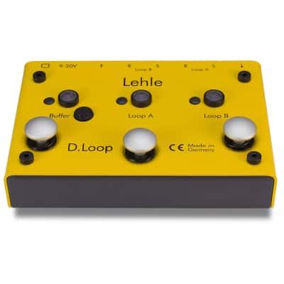 Lehle D.LOOP SGOS 2-Channel Effect-Loop / Switcher w High End Buffer Amp