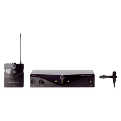 AKG PERCEPTION PRESENTER   LAVALIERE WIRELESS SYSTEM 2020 Black