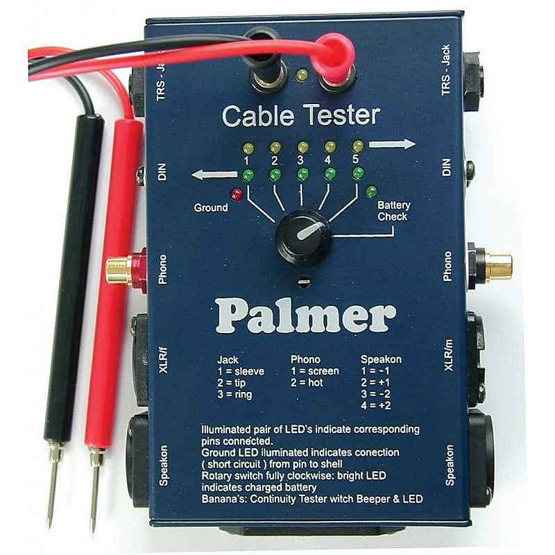 Palmer Cable Tester AHMCT8 Blue image