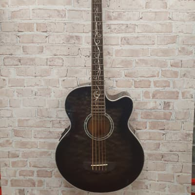 Michael Kelly Dragonfly 5 Acoustic-Electric 5-String Bass 2019 Smoke Burst for sale