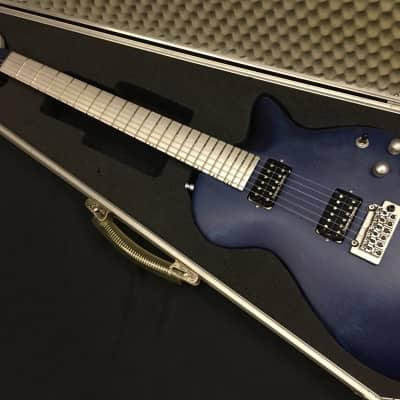 Andreas Shark Blue rare boutique guitar aluminum european custom coil split worldwide shippibg for sale