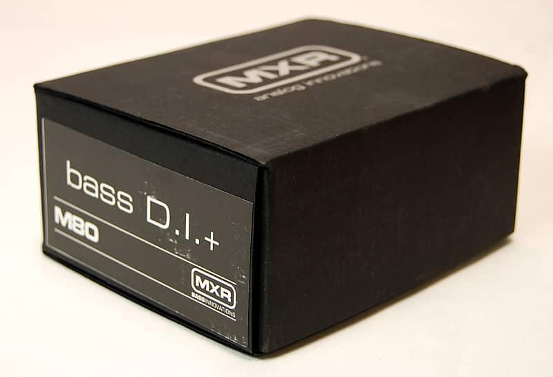 mxr m80 bass d i direct box w distortion electric bass reverb. Black Bedroom Furniture Sets. Home Design Ideas