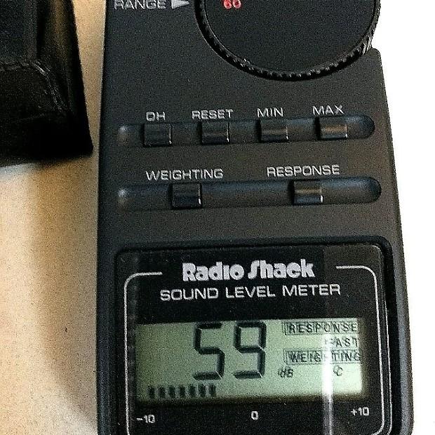 radio shack sound level meter 33 2055 manual