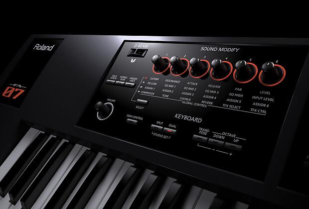 roland fa 07 76 note music workstation austin bazaar reverb. Black Bedroom Furniture Sets. Home Design Ideas