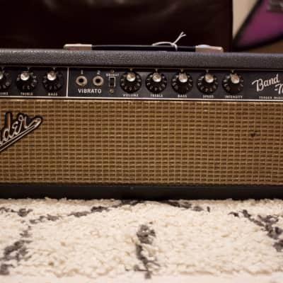 1965 Fender AB763 Blackface Bandmaster All Original Pre CBS