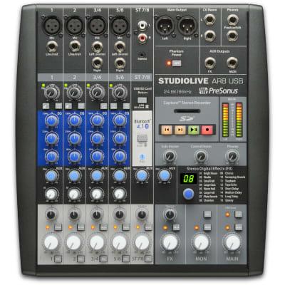 PreSonus StudioLive AR8 Hybrid Mixer Interface